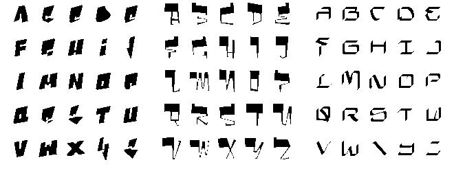 Moldes de letras con lapiz - Imagui