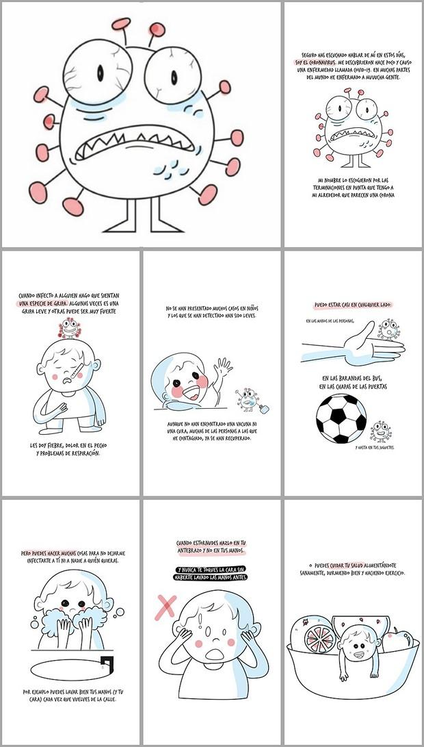 Carteles Tripticos E Infografias Del Coronavirus