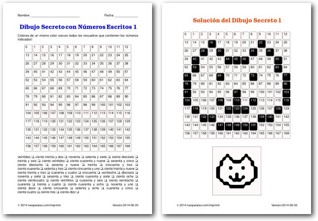 Juegos de Divisibilidad para Imprimir