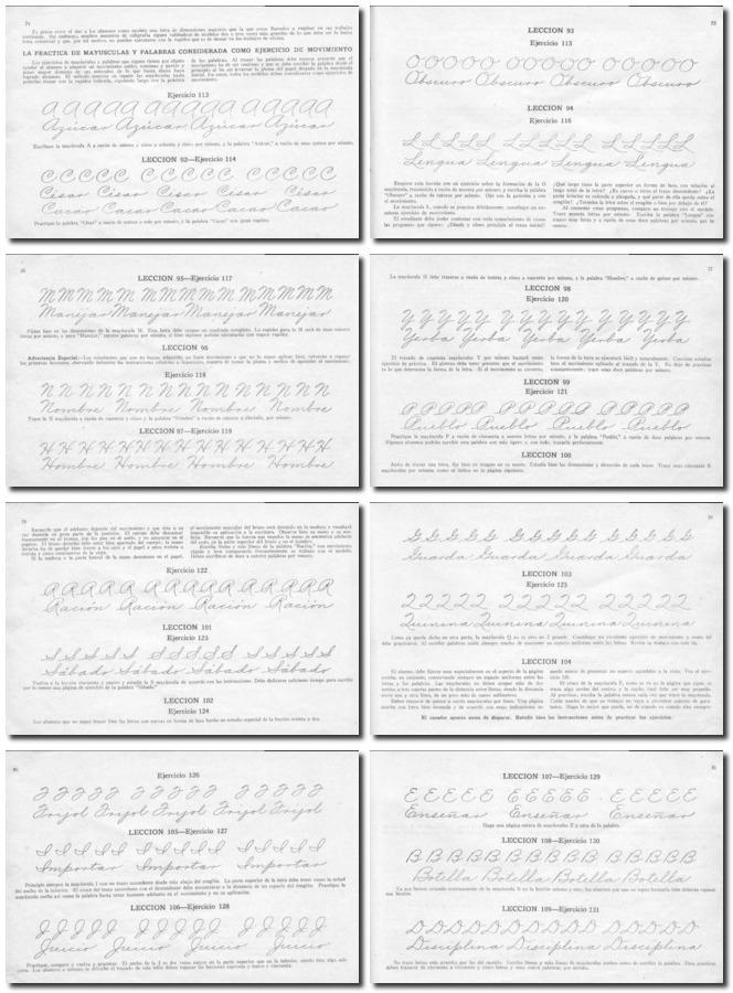 Hojas De Caligrafia Para Imprimir