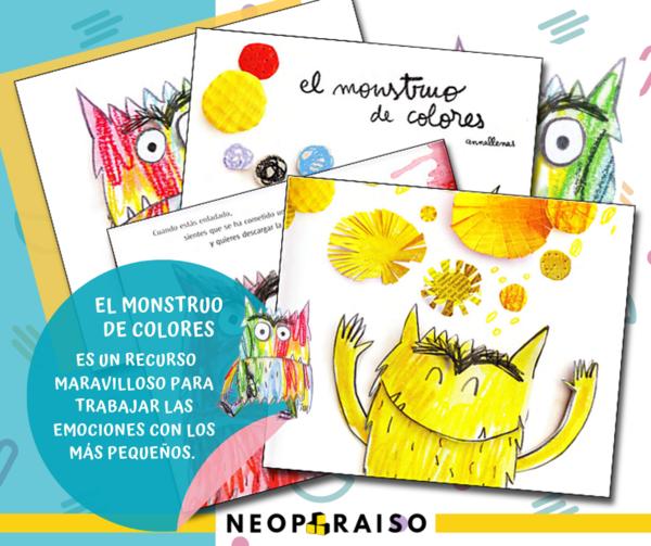 Libro El Monstruo De Colores Pdf