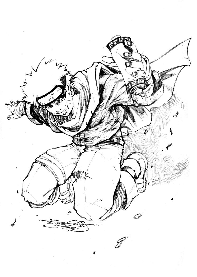 Famoso Páginas Para Colorear Naruto Ideas - Enmarcado Para Colorear ...