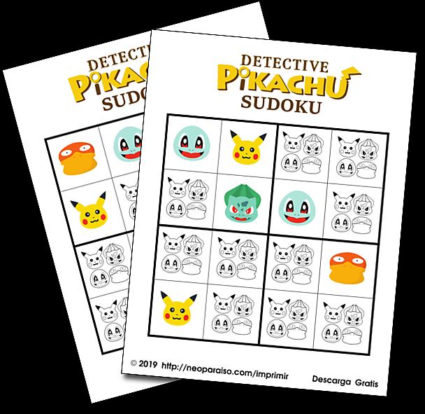 Detective Pikachu Sudoku